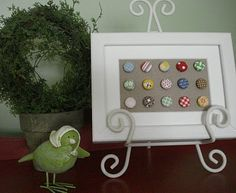 Bee In My Bonnet: Tutorial - Framed Covered Buttons