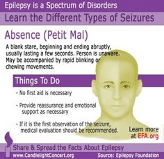 Brief Overview: Absence Seizures (No link. Just the picture.)