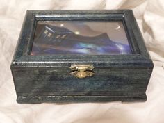 Doctor Who Tardis Box Blue Moon by KimKnots on Etsy ~ LOVE IT!