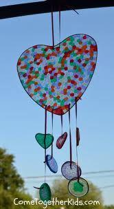 melted bead suncatchers - Google Search glass beads: http://www.ecrafty.com/c-2-glass-beads.aspx