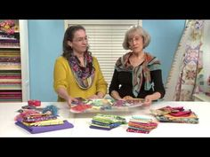 Make It Your Way! Quilt Along: Lesson 1 of 12 - YouTube ~ stunning Sampler Lap Quilt