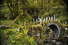 The magical Fairy Bridge in Argyll, Scotland