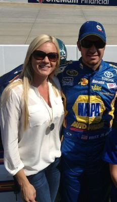 NASCAR Drivers Wives | Martin Truex Jr's girlfriend Sherry Pollex