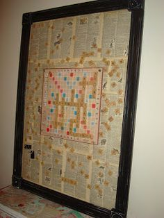 DIY - TUTORIAL - MAGNETIC SCRABBLE BOARD