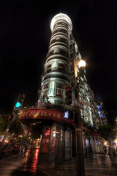 Columbus Tower, San Francisco