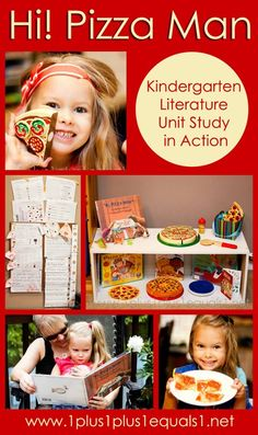 Hi! Pizza Man ~ Kindergarten Literature Unit in Action