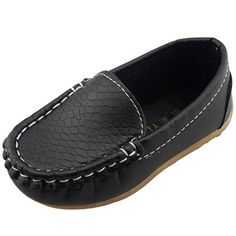 DADAWEN Boy's Girl's Slip-on Loafers Oxford Shoes - Listing price: $29.99 Now: $6.99