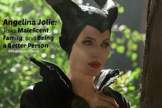 Angelina Jolie: Talks Maleficent, Family, and Being a Better Person - Trippin With Tara