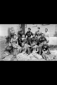 Spelman College graduating class of 1892