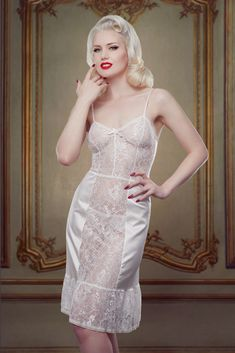Bridal Nell Slip Betty Blues Loungerie
