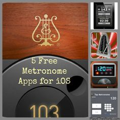 5 Free Metronome Apps for iOS #music #apps #teachers #free