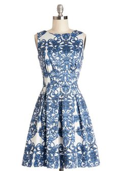 Ain't We Haute Fun? Dress in Paisley #modcloth $75