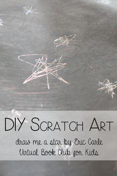 Homemade Scratch Art Paper