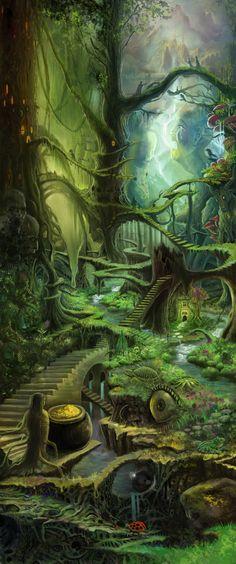 """""""The Path"""" Mixed Media by Aaron Herrera"""