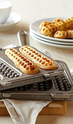 Fun take on waffles - a waffle stick pan http://rstyle.me/n/evx5inyg6