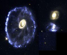 The Cartwheel Galaxy | ESA/Hubble