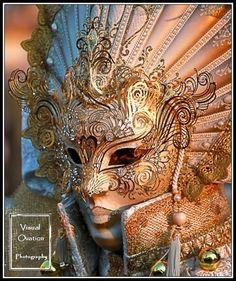 Gorgeous Elaborate Venetian Mask