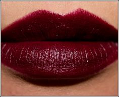 MAC Lipstick - 'Prince Noir'. I'm always looking for more black cherry colored lipsticks to add to my collection.