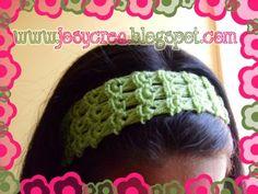 *.:。✿JosyCrea✿.。.:* Tejido a Crochet y Más!: Cintillos en punto peruano