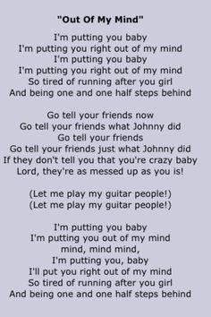 lyrics paper doll