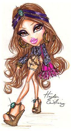 Bratz 'Style It!' Yasmin designed by Hayden Williams