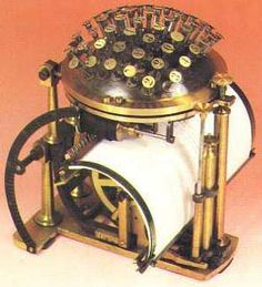 The Earliest Writing Machines