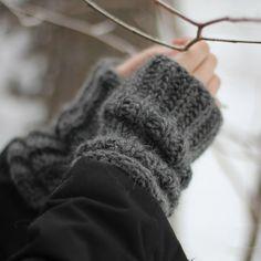 Sloigur Wrist Warmers | Anna Soderstrom | Wolf & Badger