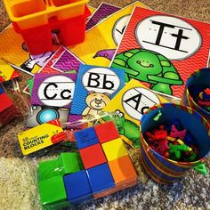 Cheap n Easy Phonics Center - Onset and Rime Activity - Thank God Its First Grade (TGIF!)
