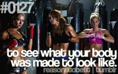 to see what your body was made to look like.