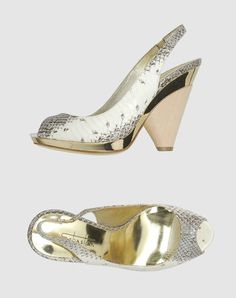 gold sandals by sebastian $335