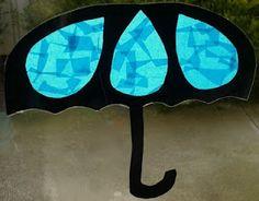 potential spring craft- umbrella suncatcher