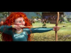 Brave Great movie the entire family enjoyed this one. I would totally watch it again. film, arrows, trailer, animation, disney princesses, brave anim, braveheart, pixar movies, curly hair