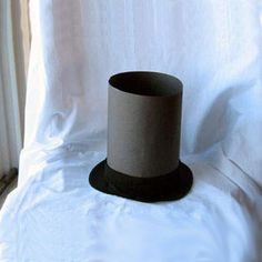 Paper Plate Abe Lincoln Hat