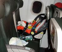 The ins and outs of safety on a plane with your child and why it's crucial to have a seat for your baby.   Jumping Jelly Bean: Car Seat Safety In an Unlikely Place