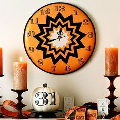 Witching Hour Wall Clock