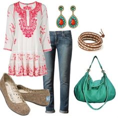 """""""Bohemian Chic"""" - Click image to find more fashion posts"""