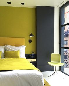 What does yellow represent to you?   Another sneak peek at one of our rooms designed by In Situ Design and Lilian B. Interiors in collaboration with the artist William Engel.
