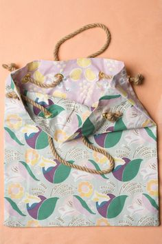 Tea towel beach bag