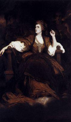 Portrait Of Mrs Siddons As The tragic Muse, Joshua Reynolds