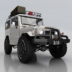 Toyota Land Cruiser FJ40. I miss my old 1969 Cruiser. One of the biggest mistakes of my life was to get rid of it.