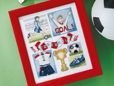 Football Fantastic - Download this fun footy design that all soccer fans will think is a winner!