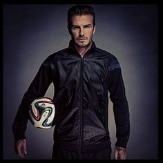 David Beckham and the New ball for the World Cup 2014