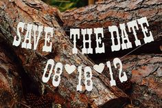 Save The Date Banners Custom Engagement Sign/Photo by windrosie, $20.00