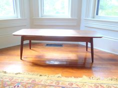 Danish Modern Coffee Table mid Century Modern Furniture. $124.50, via Etsy.