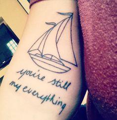 Just the sailboat