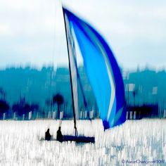 Sailboat Abstract