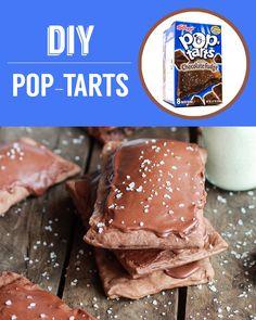 Homemade Chocolate Fudge Pop Tarts