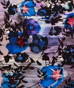 Lilac Silhouette Scarf - paul smith