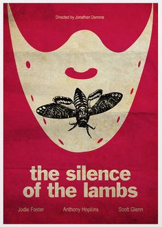 Silence of the Lambs Movie Poster A3 by Posterinspired on Etsy