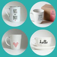 4 mugs très love pou